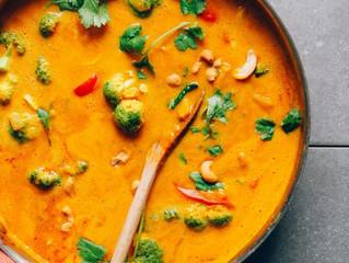 One Pot Yellow Pumpkin Curry