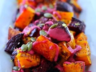 Kombucha Vinaigrette Roasted Beets Salad