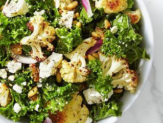 Kale & Roasted Cauliflower Salad