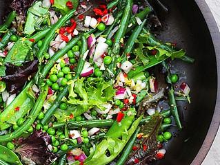 French Bean & Honey Mustard Salad