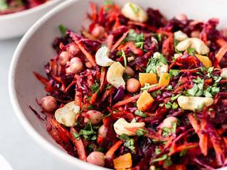 Raw Winter Salad