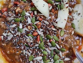 Papaya, Mango & Kiwi Protein Smoothie Bowl