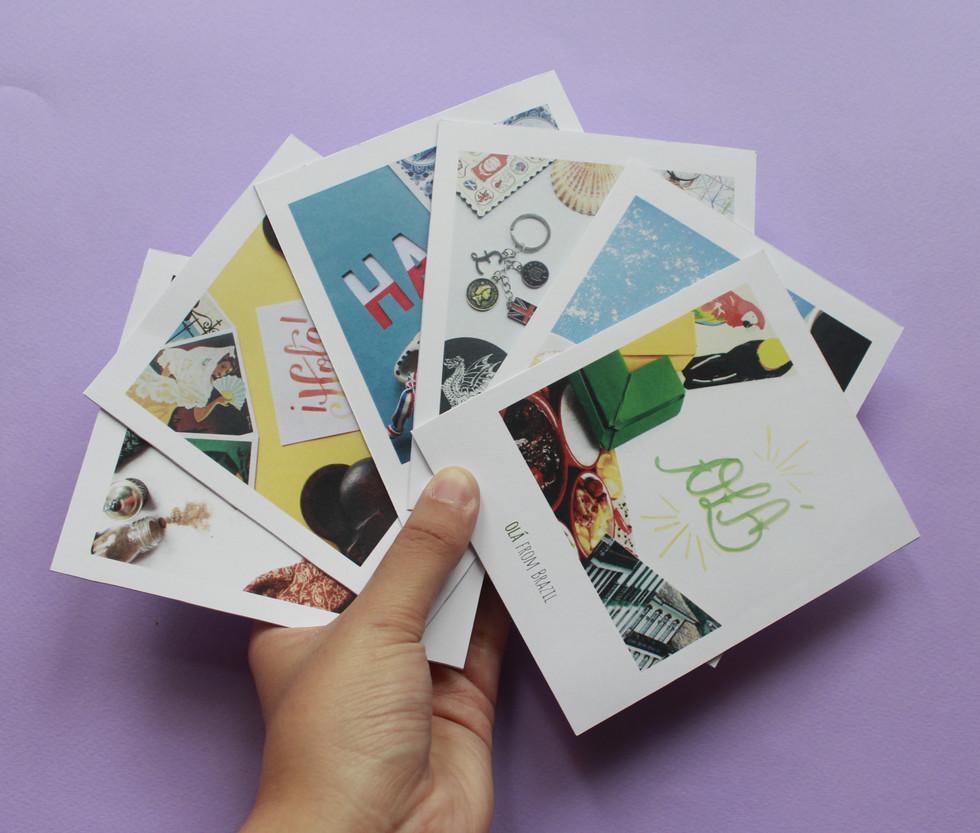 Hello! - Postcards