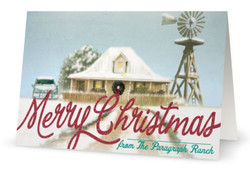 Paragraph Ranch Christmas Card 2014 front