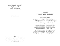 One Light Through Many Windows_page layout
