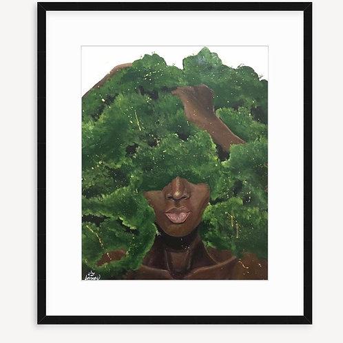OXYGEN poster print