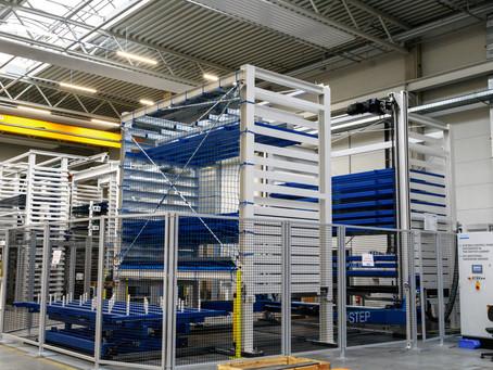 Новая система хранения листового металла STOPA ECO PLUS