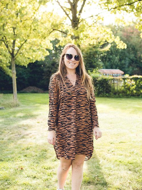 Zebra Kilky Dress