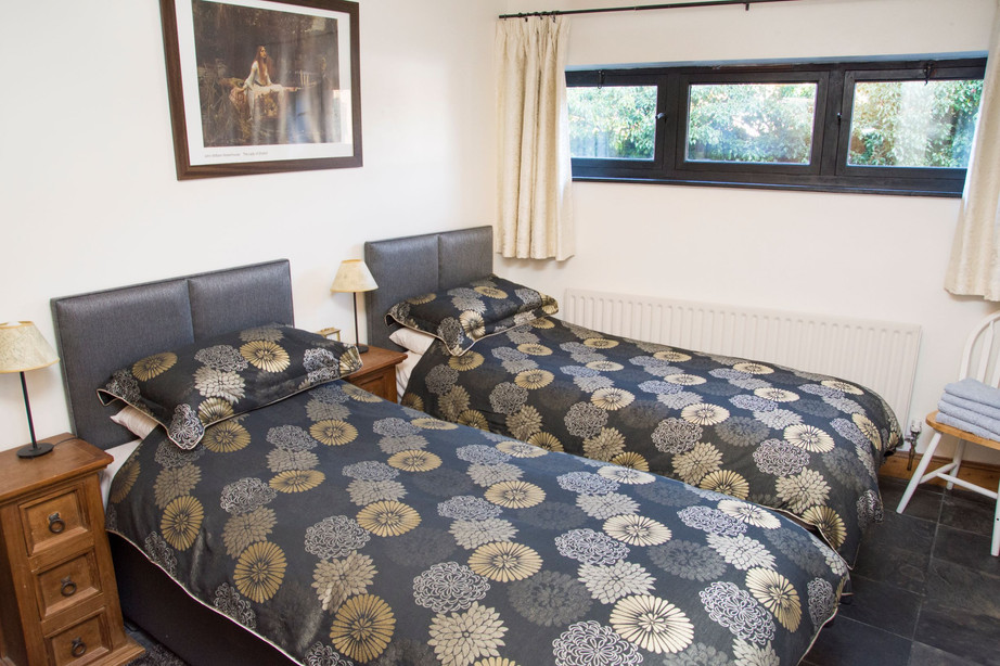 Master Bedroom as twin_The Stables Accom