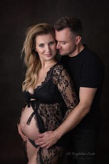 sesja ciążowa z partnerem Kraków