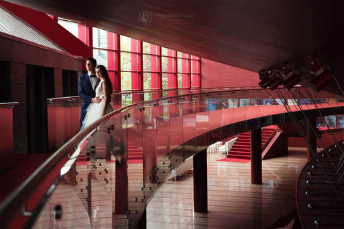 sesja ślubna opera krakowska