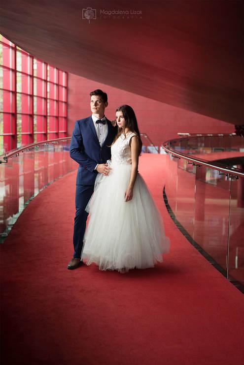 sesja ślubna w operze krakowskiej