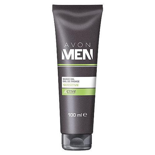 Avon Men Sensitive Shave Gel 100ml