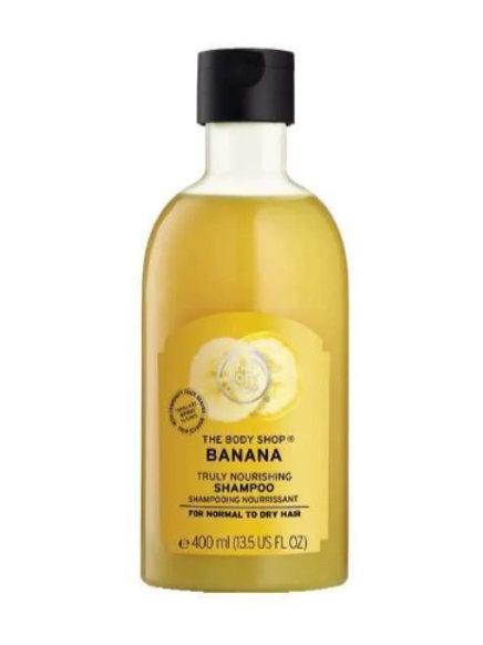 Body Shop Banana Truly Nourishing Shampoo 400ml