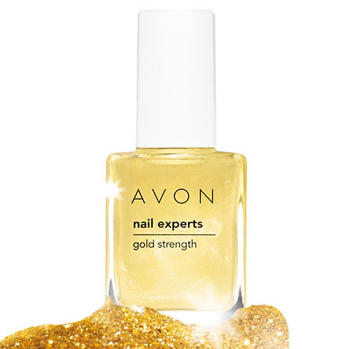 Avon Nail Experts Gold Strength 10ml