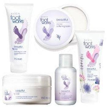 Avon Foot Works Beautiful Lavender Set