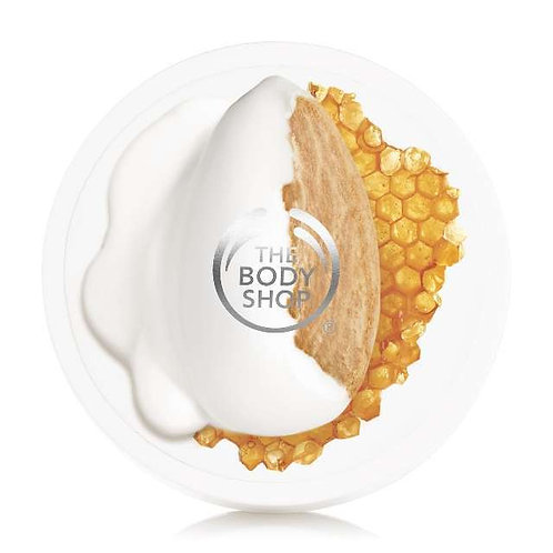 Body Shop Almond Milk & Honey Soothing & Restoring Body Butter 200ml