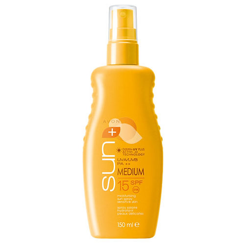 Avon Sun+ Moisturising Sun Spray SPF15 150ml