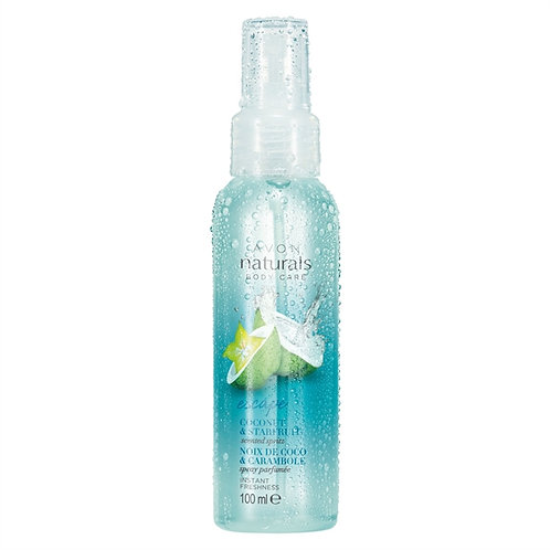 Avon Naturals Coconut & Starfruit Scented Spritz Spray 100ml