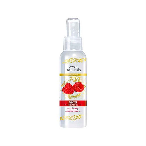 Avon Senses Winter Treasure Raspberry Body Mist Spritz - 100ml