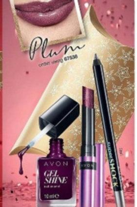 Avon Glitz Glam Set - Plum