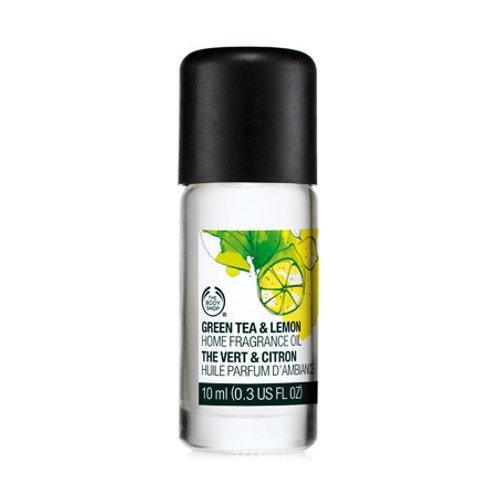 Body Shop Green Tea & Lemon Home Fragrance Oil 10ml