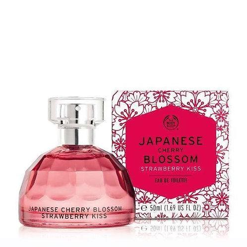 Body Shop Japanese Cherry Blossom Strawberry Kiss Eau De Toilette 50ml