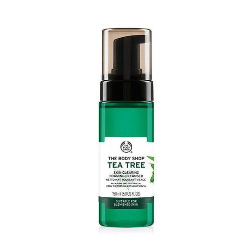 Body Shop Tea Tree Skin Clearing Foaming Cleanser 150ml