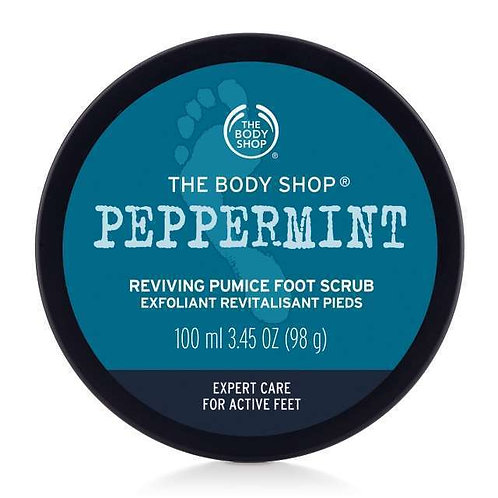 Body Shop Peppermint Soothing Pumice Foot Scrub 100ml