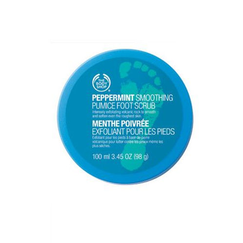 Body Shop Peppermint Soothing Pumice Foot Scrub 100ml