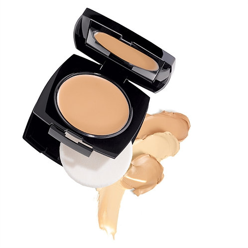 Avon True Colour Flawless Cream-to-Powder Foundation Compact 9g - Light Ivory