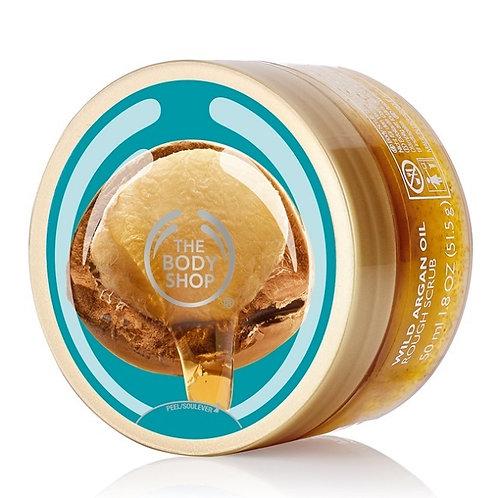 Body Shop Wild Argan Oil Exfoliating Gel Body Scrub 250ml