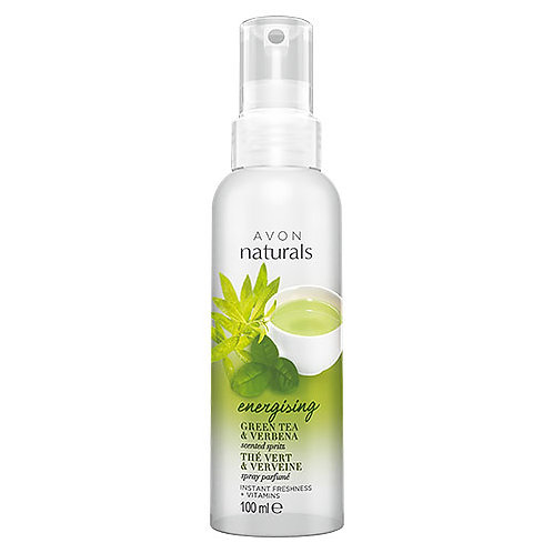 Avon Naturals Green Tea And Verbena Scented Spritz Spray 100ml