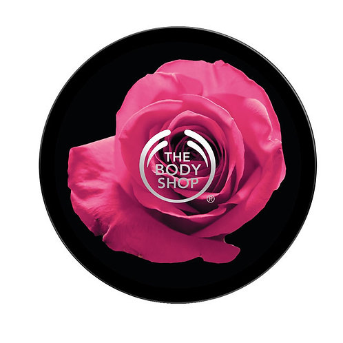 Body Shop British Rose Instant Glow Body Butter 200ml