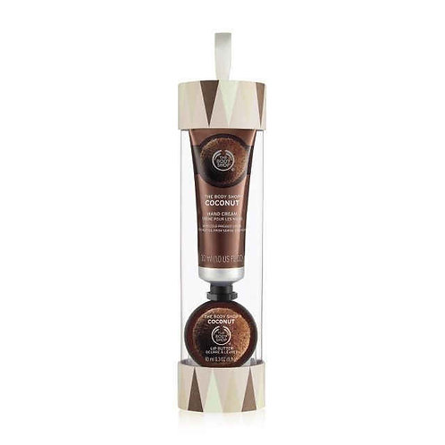 Body Shop Coconut Soft Hands Warm Kisses Gift