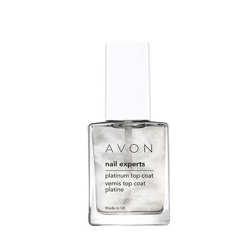 Avon Nail Experts Platinum Top Coat 10ml