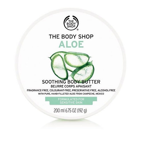 Body Shop Aloe Soothing Body Butter 200ml