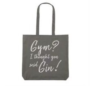 Avon Gym Slogan Shopper (Gin)