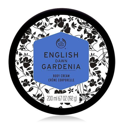 Body Shop English Dawn Gardenia Body Cream 200ml