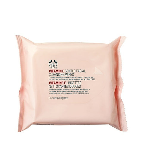Body Shop Vitamin E Gentle Facial Cleansing Wipes
