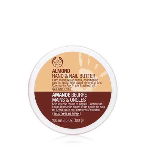 Body Shop Almond Hand And Nail Butter 100ml