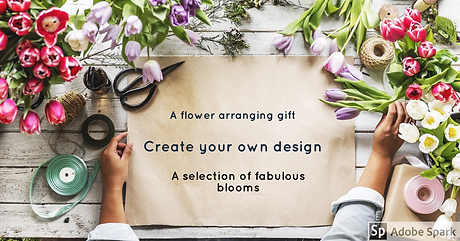 Flower arranging gift