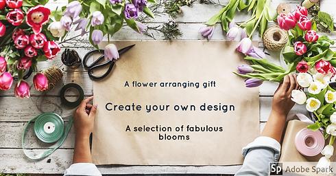 Flower arranging gift