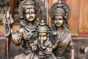 Vijayanagar period bronze sculpture of t