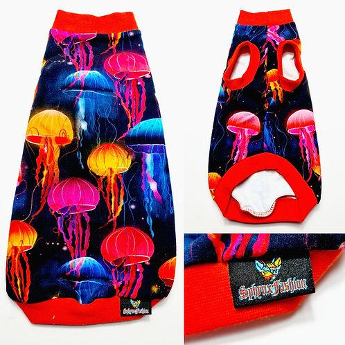 Jellyfish Cotton Knit - Sphynx Cat Top