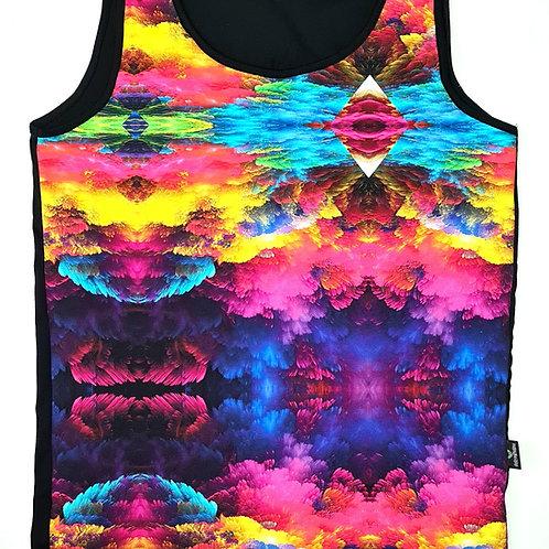 Colour Burst - Human Vest Top