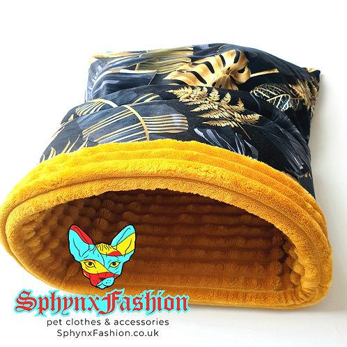 Gold Leaf Deluxe Velvet Snuggle Bag