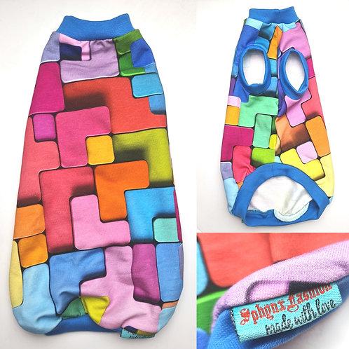 Tetris 3D Cotton Knit- Sphynx Cat Top