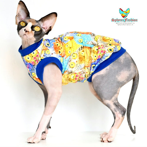 MultiOwl's Cotton Knit - Sphynx Cat Top
