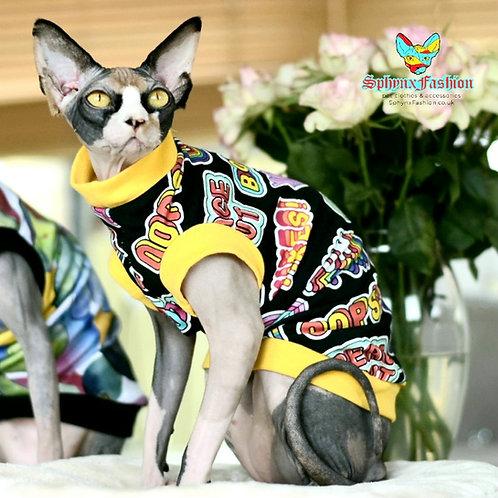 Slogan  - Sphynx Cat Top